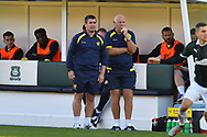 Burton Albion manager Nigel Clough in the technical area during the EFL Sky Bet League 1 match between Plymouth Argyle and Burton Albion at Home Park, Plymouth, England on 20 October 2018.