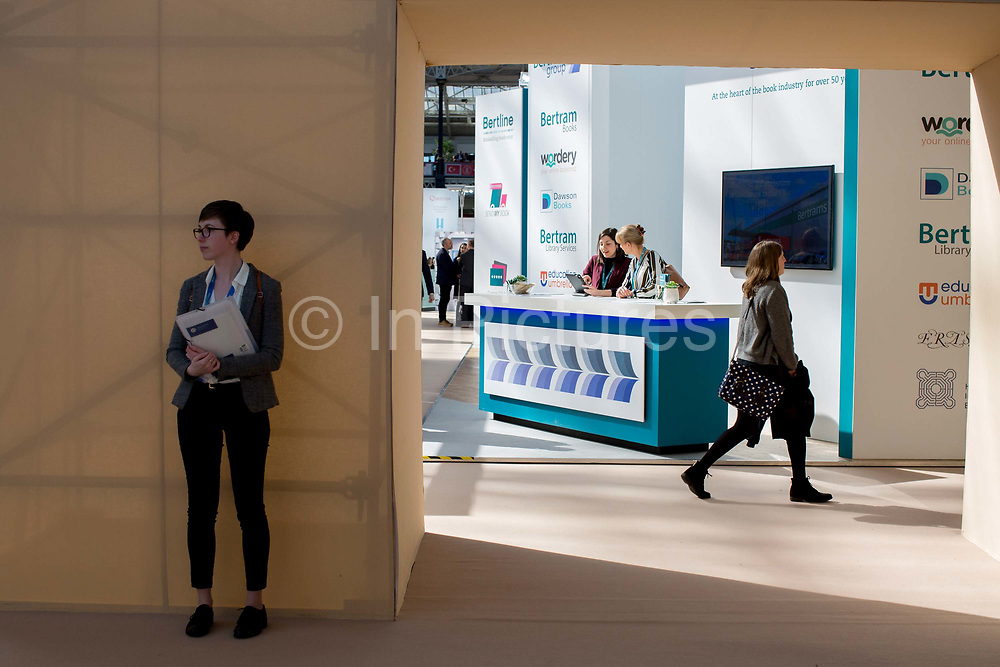Day three of the London Book Fair on the 14th March 2019 at London Olympia in the United Kingdom.