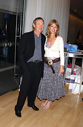 NICK & NETTE MASON at party in aid of cancer charity Clic Sargent held at the Sanderson Hotel, Berners Street, London on 4th July 2005.<br />