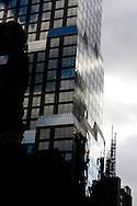 New York office building , Tiimes sqaure  areaNew york -/ immeuble de bureau quartier de Times square  New york