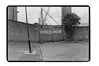 Lovell's Wharf, Greenwich, London, 1982. South-East London, 1982