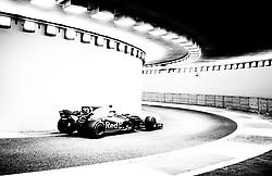 November 24, 2017 - Abu Dhabi, United Arab Emirates - Max Verstappen of Netherland and Red Bull Racing Team driver goes during the first practice at Formula One Etihad Airways Abu Dhabi Grand Prix on Nov 24, 2017 in Yas Marina Circuit, Abu Dhabi, UAE. (Credit Image: © Robert Szaniszlo/NurPhoto via ZUMA Press)