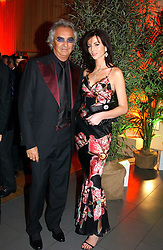 FLAVIO BRIATORE and MARIE DONOHUE at Andy & Patti Wong's Chinese New Year party to celebrate the year of the Rooster held at the Great Eastern Hotel, Liverpool Street, London on 29th January 2005.  Guests were invited to dress in 1920's Shanghai fashion.<br /><br />NON EXCLUSIVE - WORLD RIGHTS