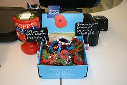 Royal British Legion poppy collection, Wales