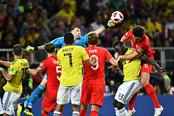 Colombia's goalkeeper Jose Cuadrado during the 1/8 final game between Colombia and England at the 2018 FIFA World Cup in Moscow, Russia on July 3, 2018. Photo by Lionel Hahn/ABACAPRESS.COM