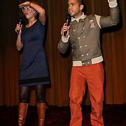 NLD/Amsterdam/20120219 - Premiere Sprookjesboom de Film, Curt Fortin en Felice Dekens