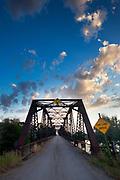 Toston Bridge, Montana.