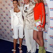 TMF awards 2004, VJ Sylvie Meijs, Jeroen Post en Renate Verbaan