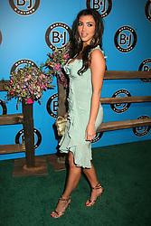 May 10, 2007 - Hollywood, CA, U.S. - 10 May 2007 - Hollywood, California - Kim Kardashian. Bartles & Jaymes Poolside BBQ at the Roosevelt Hotel.  (Credit Image: © Byron Purvis/AdMedia via ZUMA Wire)
