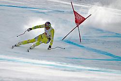 02.12.2011, Birds of Prey, Beaver Creek, USA, FIS Weltcup Ski Alpin, Abfahrt Herren, im Bild  Norwegian Ski Team Athlete Aksel Lund Svindal taking fith place during a men downhill race at FIS alpine Ski Worldcup on the Birds of Prey downhill course at Beaver Creek, USA on 2011/12/02