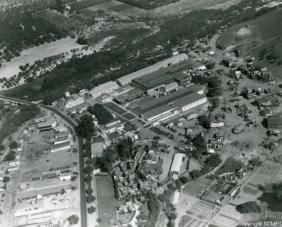 1923 Aerial photo of Universal Studios