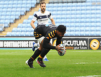 Rugby Union - 2019 / 2020 Gallagher Premiership - Semi-final - Wasps  vs Bristol Bears - Ricoh Stadium<br /> <br /> Malakai Fekitoa of Wasps scores the first try<br /> <br /> COLORSPORT/ANDREW COWIE