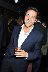ANDY JORDAN at the launch of Beulah's collaboration with Hennessy Gold Cup and a preview of the SS13 Collection held at The Brompton Club, 92b Old Brompton Road, London SW7 on 18th October 2012.