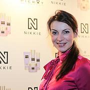 NLD/Amsterdam/20130205 - Modeshow Nikki Plessen 2013, Irene van de Laar