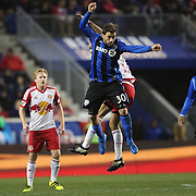 HARRISON, NEW JERSEY- November 06:  Hernan Bernardello #30 of Montreal Impact during the New York Red Bulls Vs Montreal Impact MLS playoff match at Red Bull Arena, Harrison, New Jersey on November 06, 2016 in Harrison, New Jersey. (Photo by Tim Clayton/Corbis via Getty Images)