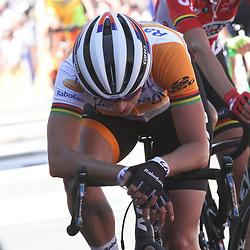 20-04-2016: Wielrennen: Waalse Pijl vrouwen: Huy  <br />HUY (BEL) cycling The Fleche Walone is the last springrace in the Womens Worldtour. MArianne Vos 9th in the Fleche Wallonne
