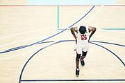 NORTH AUGUSTA, SC. July 10, 2019. Joshua Gray 2020 #23 of PSA Cardinals 17U at Nike Peach Jam in North Augusta, SC. <br /> NOTE TO USER: Mandatory Copyright Notice: Photo by Royce Paris / Jon Lopez Creative / Nike