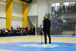 Bostjan Cesar during Opening event of Sports hall Baza, on January 8, 2018 in Sports hall Baza, Ljubljana, Slovenia. Photo by Ziga Zupan / Sportida