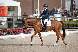 Op t Hoog Lars, NED, Gavi Del Gavi Vcg<br /> Nederlands Kampioenschap Dressuur <br /> Ermelo 2017<br /> © Hippo Foto - Dirk Caremans<br /> 15/07/2017