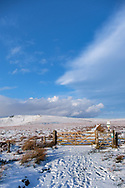 Bleaklow (Snake Pass) in winter snow