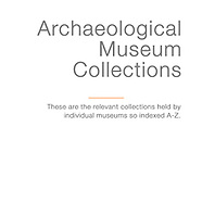 Museum Artefact Collections
