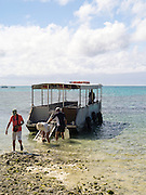 Arriving at Lady Musgrave Island, QLD, Australia