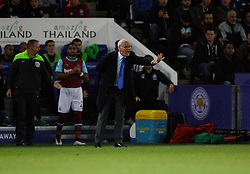 Leicester City Manager Claudio Ranieri  - Mandatory byline: Jack Phillips/JMP - 07966386802 - 22/09/2015 - SPORT - FOOTBALL - Leicester - King Power Stadium - Leicester City v West Ham United - Capital One Cup Round 3