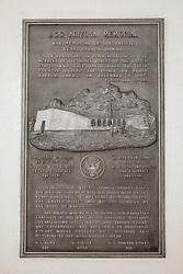 USS Arizona Memorial Dedication Plaque, Pearl Harbor