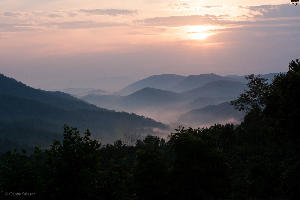 Great Smoky Mountain National Park in Tennessee, USA.