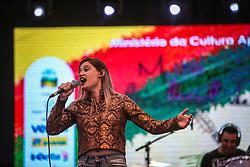 Amanda Ramos se apresenta na 41a Expointer realizada em Esteio, Rio Grande do Sul. FOTO: Gustavo Granata/ Agência Preview