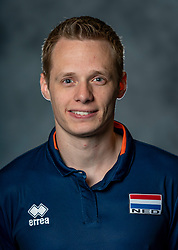 14-05-2019 NED: Photoshoot national volleyball team Women, Arnhem<br /> Erik Reitsma - assistent trainer papendal