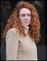 Rebekah Brooks, former News International chief executive Leaves the Old Bailey for a preliminary hearing as Eight are charged over alleged News of the World phone hacking, London, Wednesday September 26, 2012 Photo Andrew Parsons / i-Images..