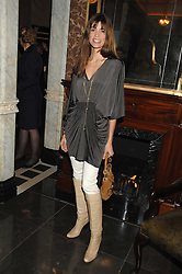 LISA BILTON at a party to celebrate the launch of the Astley Clarke Fine Jewellery Collection held at The Connaught hotel, London W1 on 28th February 2008.<br />