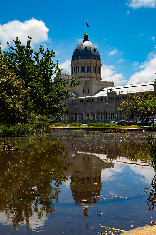 Royal Exhibition Building and Carlton Gardens, Melbourne, Australia - the first building in Australia to achieve UNESCO World Heritage status.