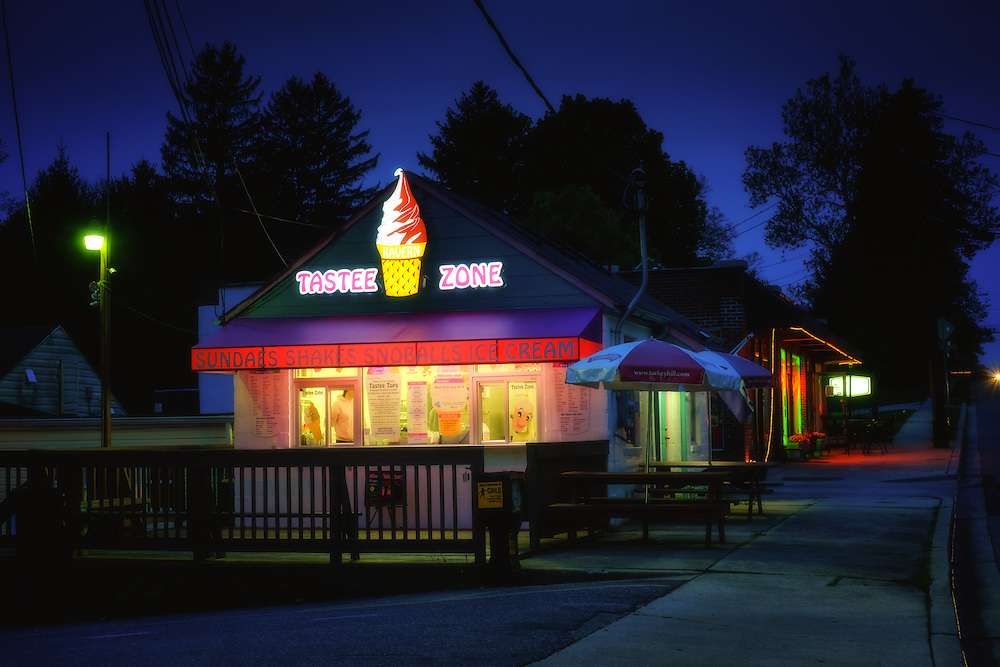 The Tastee Zone in Catonsville, Maryland.