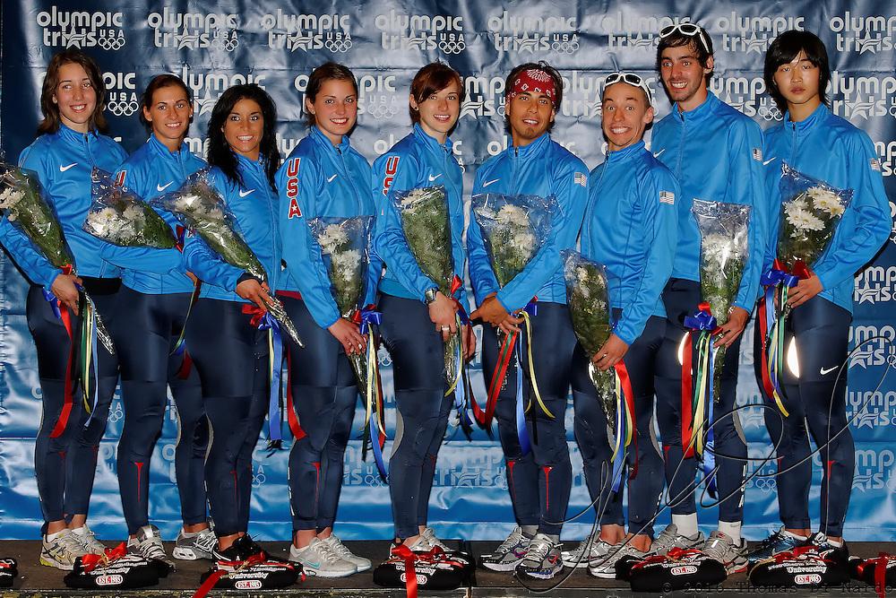 September 11, 2009 - Marquette, MI - Olympic Short Track Team Trials