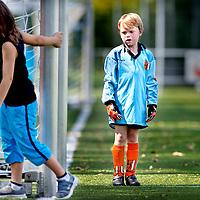 SERIE ROOKIE<br /> Nederland, Amstelveen, 22-08-2015.<br /> TEKST BIJ FOTO :<br /> Amstelveen. Voetbal, Beker, Sporting Martinus F9 - RKAVIC F3<br /> Foto: Klaas Jan van der Weij