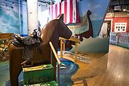 Brunk Children's Museum of Immigration, en del av The Swedish American Museum där barn kan leka och lära sig om invandring.<br />  <br /> Andersonville, Chicago, Illinois, USA<br /> <br /> Foto: Christina Sjögren