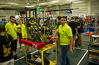 Governor's Cup FirstNH Robotics Competition at All Well North ~ Plymouth State University.  Karen Bobotas for the Laconia Daily Sun