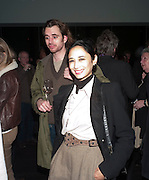 HANNAH BHUIYA, Gabriel Orozco reception, Tate Modern, London. 18 January 2010. .-DO NOT ARCHIVE-© Copyright Photograph by Dafydd Jones. 248 Clapham Rd. London SW9 0PZ. Tel 0207 820 0771. www.dafjones.com.
