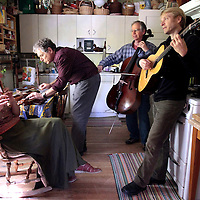 Gourd Music's Barry Phillips, Shelley Phillips, Neal Hellman and William Coulter <br /> Photo by Shmuel Thaler <br /> shmuel_thaler@yahoo.com www.shmuelthaler.com