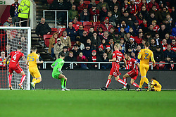 Daniel Johnson of Preston North End scores to make it 2-1 - Mandatory by-line: Dougie Allward/JMP - 17/12/2016 - FOOTBALL - Ashton Gate - Bristol, England - Bristol City v Preston North End - Sky Bet Championship