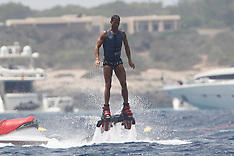 Excl: Cristiano Ronaldo Flyboarding - 9 July 2017