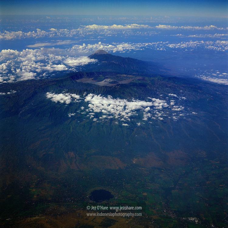 Mount Bromo, Batok & Semeru, Bromo Tengger Semeru National Park, East Java, Indonesia.
