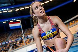 11-02-2017 NED: AA Drink NK Indoor, Apeldoorn<br /> Boeien Jansen wordt derde op de 60 meter