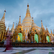 Main stupa of Shwedagon pagoda