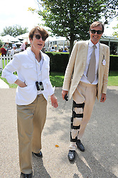 RODDY CAMPBELL and SOPHIE HICKS at the 3rd day of the 2011 Glorious Goodwood Racing Festival - Ladies Day at Goodwood Racecourse, West Sussex on 28th July 2011.