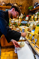 Fromagerie Marie-Anne Cantin (cheese shop) on rue Champ de Mars in the Rue Cler market, Paris, France.