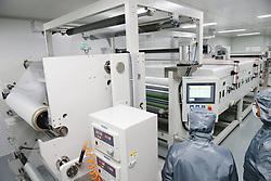 May 26, 2019 - Nanton, Nanton, China - Nantong, CHINA-Workers at the workshop of a composite material company in Nantong,east China's Jiangsu Province. (Credit Image: © SIPA Asia via ZUMA Wire)