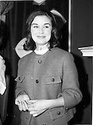"07/06/1962<br /> 06/07/1962<br /> 07 June 1962 <br /> ""Light and Lovely"" new Coty Make-up range, reception at the Shelbourne Hotel, Dublin. Model for the demonstration."